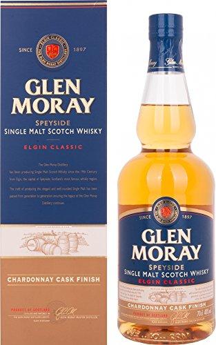 Glen Moray Elgin Classic Chardonnay Cask Speyside Single Malt Scotch Whisky...