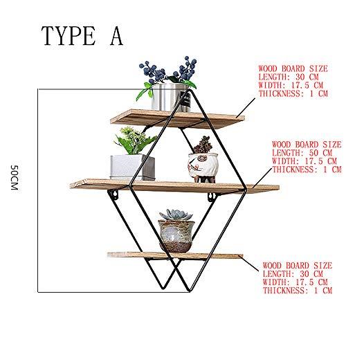 Stoge Wohnzimmer-Sofa-hinteres Regal der europäischen und amerikanischen Art, Restaurant-Wand-Dekoration, Schmiedeeisen + festes Holz-Design, mehrlagige Lagerung, Verschiedene Arten, damit Sie wählen