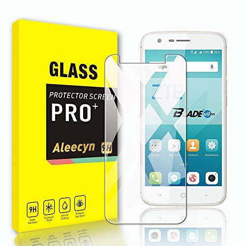 ALEECYN [3 Stück Panzerglas Schutzfolie für ZTE Blade V8 Lite, 9H Festigkeit Panzerglas,Anti-Kratzer Schutzglas, Fingerabdruck-frei,Einfache Installation,HD Bildschirmschutzfolie für ZTE Blade V8 Lite