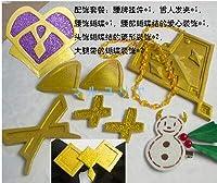 【マルユリヤ】グランブルーファンタジー ナルメア クリスマス 風 コスプレ アクセサリー 靴下 手袋