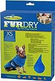 FURminator FUR Dry für Hunde (sehr klein, bis 20 cm Körperlänge, blau)