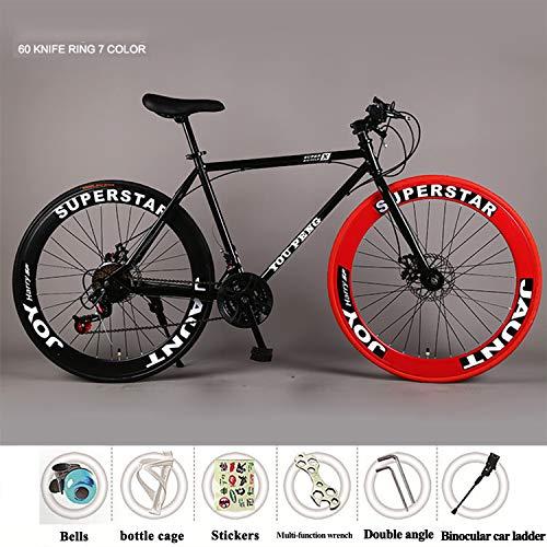 YI'HUI Velo de Route Carbone, Vélo de Course Homme Fibre de Carbone 21-Vitesses,603