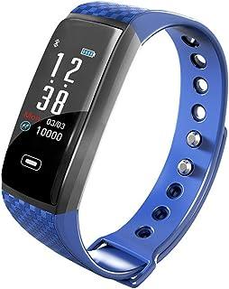 Pulsera de Actividad Inteligente,Impermeable IP67 Reloj Inteligente Hombre Mujer con Pulsómetro y Presión Arterial,Reloj Deportivo GPS Podómetro para Android iOS Teléfono