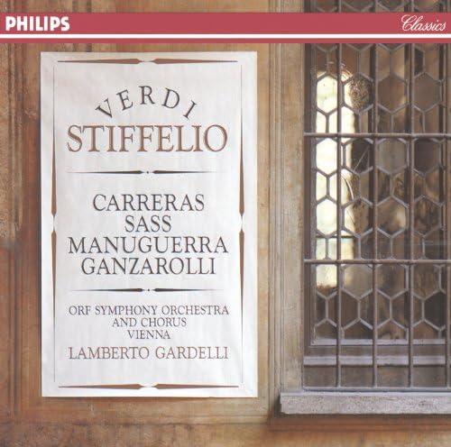 Sylvia Sass, José Carreras, Matteo Manuguerra, ORF Symphony Chorus, ORF Symphony Orchestra & Lamberto Gardelli