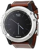 Garmin Fenix 3 Saphir - Reloj con correa de cuero