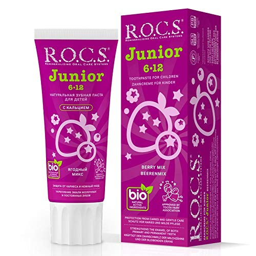 Zahnpasta R.O.C.S. Junior Berry Mix, 74 Gramm