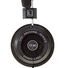 """Grado's award winning headphone - open back design offer a larger sound stage with greater detail and clarity """"The Grado SR80e's are special, buy them and love them"""" - What HiFi Mini plug termination, incudes a 1/4 inch adapter Lightweight, comfortab..."""