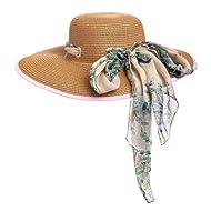Garden Hat Cream Accent Scarf