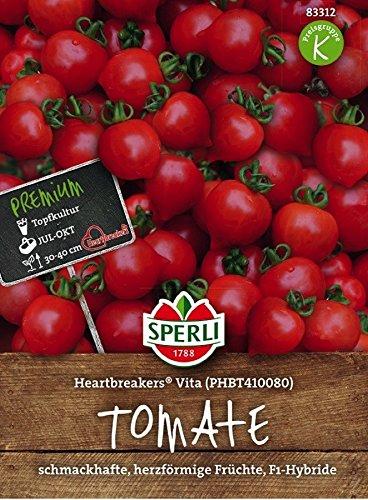 Sperli Cherry-Tomate 'Heartbreakers Vita', F1 | herzförmig | 1 Packung Samen