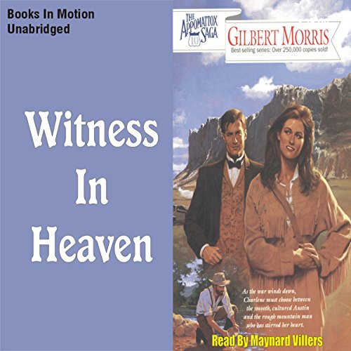 Witness in Heaven audiobook cover art