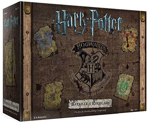 Harry Potter : Bataille à Poudlard - Asmodee - Jeu de société - Jeu de cartes - Deckbuilding