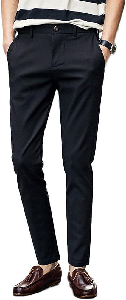 Botong Men's Suit Pants Stretch Slim Fit Skinny Casual Dress Pants Separate Pants