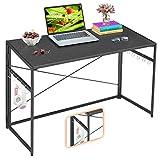 "Mr IRONSTONE 39.4"" Folding Computer Desk Carbon Fiber Tabletop,..."
