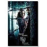 KONGQTE Emma Watson Hermine Poster Rupert Grint Ron Weasley