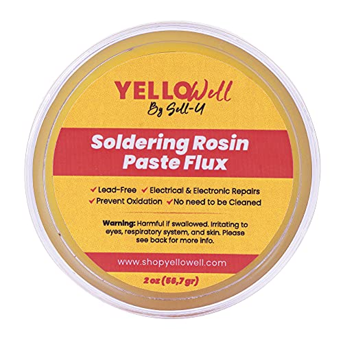Soldering Products Rosin Paste Flux - Electrical & Electronic Repairs - (2 oz) (1)
