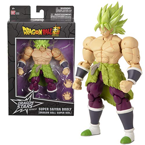 Dragon Ball Super - S.S. BROLY Figura de acción Deluxe (Bandai 36190)
