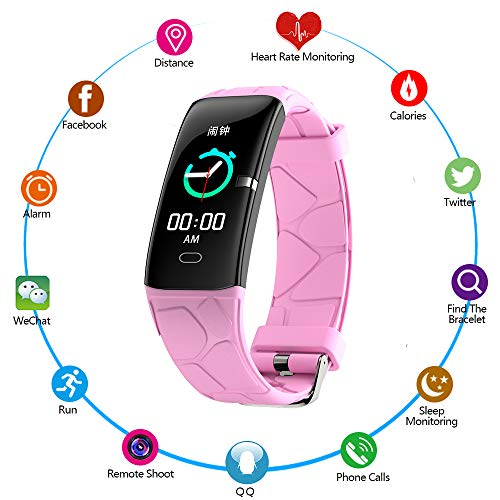0.96 Inch Scherm IP67 Hartslag Bloeddruk Slaapmonitor Stappenteller Smart Fitness Tracker Gratis APP