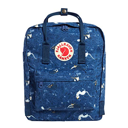 Fjallraven - Kanken Art Special Edition Backpack for Everyday, Blue Fable