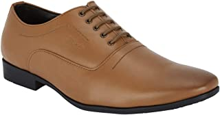 Park Avenue Solid Brown Coloured Synthetic Footwear