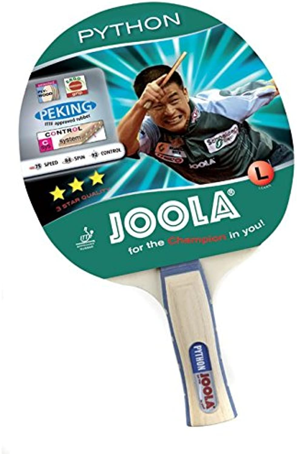 JOOLA 53031 Python Recreational Table Tennis Racket