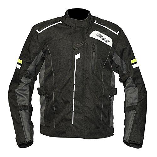 Bela Chaqueta Textil Para Hombre CE aprobado Tough Rider Chaqueta de moto (L)