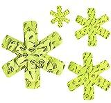 Kytpyi protectores para sartenes, 6 piezas separador sartenes protectores de ollas protector de sartenes bra fieltro protector sartenes para proteger y separar ollas y sartenes (18,28,38cm)
