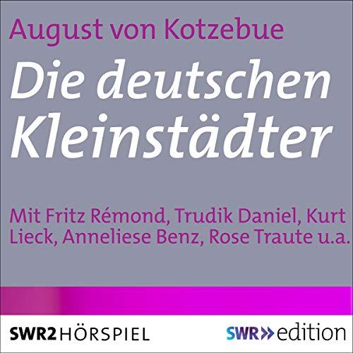 Die deutschen Kleinstädter audiobook cover art