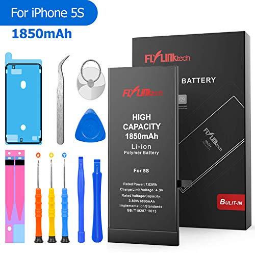Batería para iPhone 5S 1850mAH Reemplazo de Alta Capacidad, FLYLINKTECH...