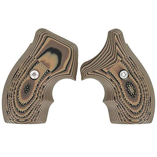 VZ Grips Smith & Wesson J-FrameTactical Diamond (Hyena Brown)