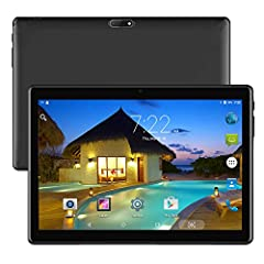 10 inch Tablet: Much more comfortable reading on the big screen with high resolution. Quad Core Processor: 4 x 1.3 GHz processor speed, multi-task is awesome. Impressive 3D gaming experience With front and back dual cameras (2.0MP and 5.0MP), be adeq...