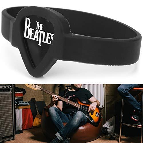 Pulsera portátil de púas, pulsera de púa de guitarra, accesorio de instrumentos musicales para púa de guitarra