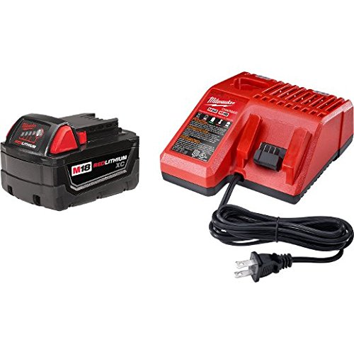 Milwaukee M18 18-Volt Starter Kit (48-59-1813) - Includes 3.0Ah XC Battery (48-11-1828) with Multi-Voltage Charger (48-59-1812)