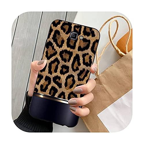 Happy-horse moda leopardo imprimir teléfono fundas para Samsung Note 8 9 10 20 Lite pro ultra J 7 2 4 6 5 prime-a10-para J6 plus