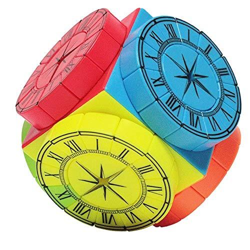 Khosd Cubo Mágico Pyraminx Velocidad Puzzle Twist Juguete De Plástico, Juego De Educación para Los Niños