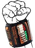 Bestes Geschenke für Männer Magnetarmband Handwerker - Vatertagsgeschenk Magnetisches Armband mit 15 Leistungsstarken Magneten, Personalisierte Geschenke Gadgets für Halten Schrauben/Nägeln/Bohrern