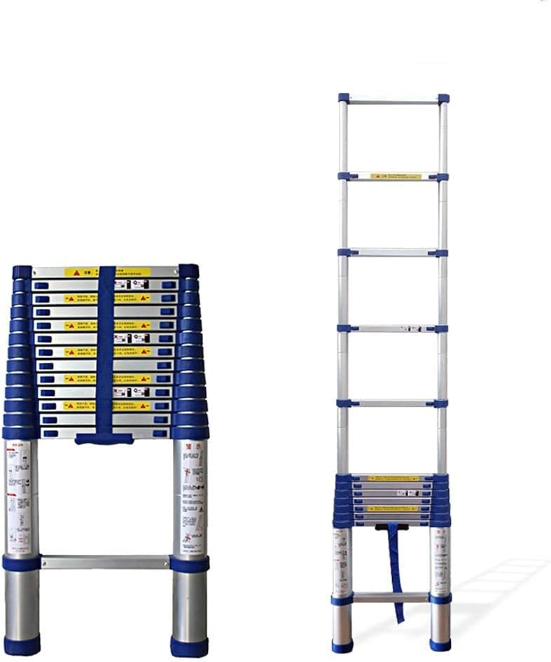 LXDZXY Ladders Omaha Mall Ranking TOP12 Portable Aluminum wit Telescopic Ladder Extension