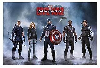 ملصق فريق كابتن أمريكا