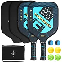 Set of 2 A11N HyperFeather Pickleball Paddles (Blue)