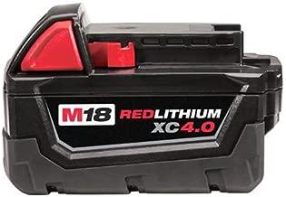 Milwaukee 48-11-1840 M18 REDLITHIUM XC 4.0 Extended Capacity Battery Pack