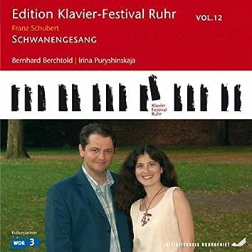 Schubert: Schwanengesang, D. 957 (Edition Ruhr Piano Festival, Vol. 12)