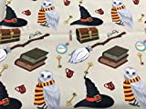 textil pertex Stoff 100% Baumwolle Harry Poter