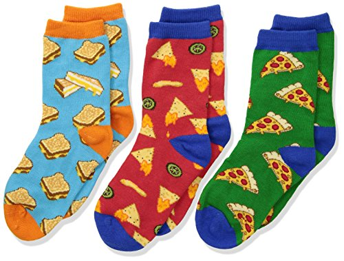 Socksmith Kids Crazy Cheesy Snack Food Socks