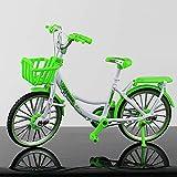 CHYA Bicicleta de dedo BMX, mini bicicleta de montaña de dedo, modelo de bicicleta realista para decoración del hogar y la oficina