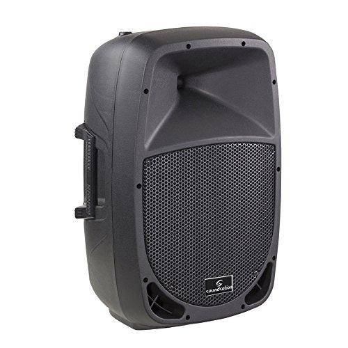Soundstation - Go-Sound 8A - diffusore attivo/amplificato da 320 watt, nero