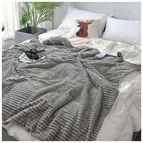 ZXL textiel deken verdikken slaapzaal quilt kantoor dutje sofa decoratie pleister deken hypoallergeen baby wrap (L: 120, 150, 180, 200CM B: 150, 200, 230cm) beddengoed (kleur: D, maat: 150X2