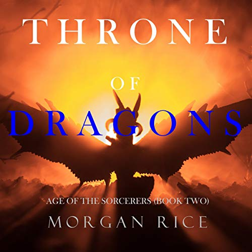 Throne of Dragons audiobook cover art