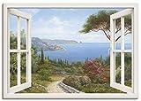 Artland Leinwandbild Wandbild Bild auf Leinwand 70x50 cm