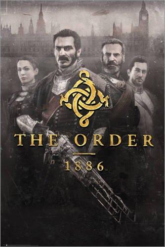 Poster The Order 1886 - Key Art - manifesto risparmio, cartellone XXL