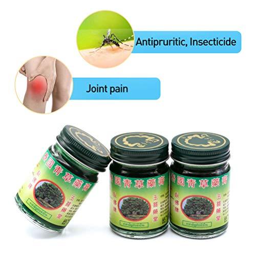 YsaAsaa 50g Thai Balm Green Herbal Ointment Massage Muscle Joints Sprain Aches Balm