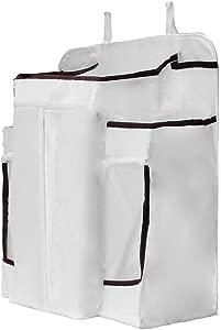 DYHM Travel Storage Box Multifunctional Hanging Bag Toy Organizer Diaper Storage Pockets Net Yarn Dispenser Pouch